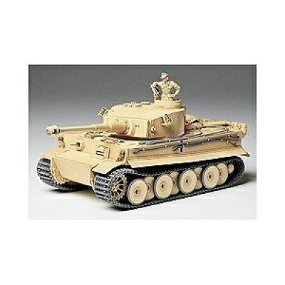 タミヤ タイガー1ショキ 1/35 ミリタリーミニチュアシリーズ No.227 ドイツ重戦車 タイガーI 極初期生産型(アフリカ仕様)