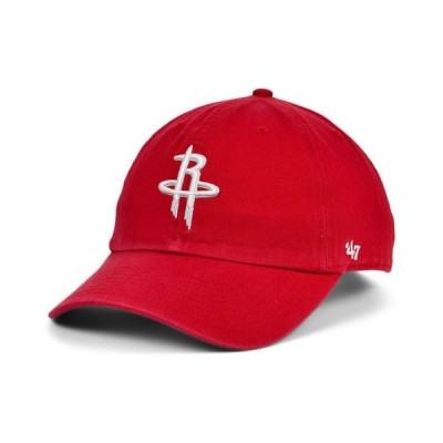 47ブランド メンズ 帽子 アクセサリー Houston Rockets CLEAN UP Cap