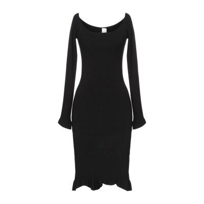 ピンコ PINKO ミニワンピース&ドレス ブラック S レーヨン 80% / ポリウレタン 20% ミニワンピース&ドレス