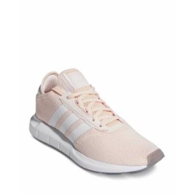アディダス レディース スニーカー シューズ Women's Swift Run X Knit Low Top Sneakers Pink/White