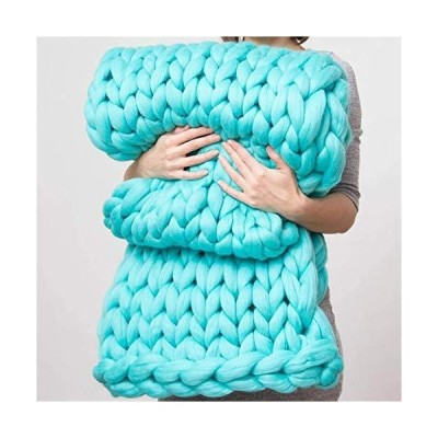 Espejo Blankets Fashion Chunky Knitted Blanket Giant Soft Thick Super Soft