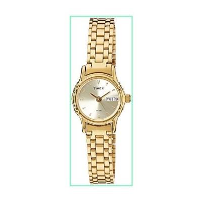 Timex クラシック レディース腕時計 アナログ ゴールド文字盤【並行輸入品】