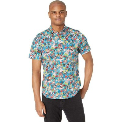 ロバートグラハム Robert Graham メンズ 半袖シャツ トップス Pin Up Girls Short Sleeve Woven Shirt Multi