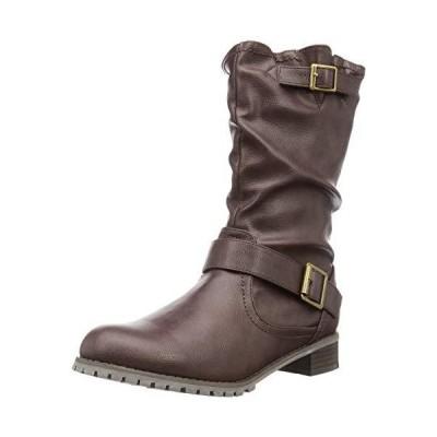 [スタイル ジェリービーンズ] ファッションブーツ ルーズシルエットエンジニアブーツ レディース DBR medium
