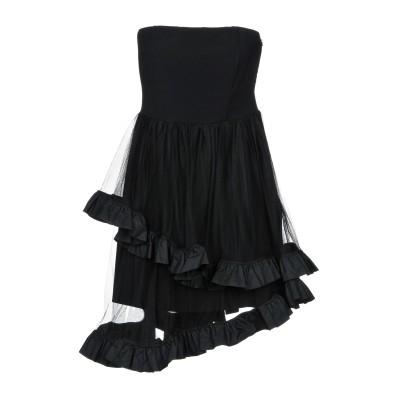 ピンコ PINKO ミニワンピース&ドレス ブラック 44 91% ポリエステル 9% ポリウレタン ナイロン ミニワンピース&ドレス