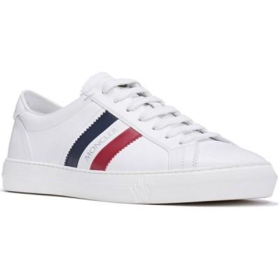 モンクレール MONCLER メンズ スニーカー ローカット シューズ・靴 New Monaco Low Top Sneaker White/White
