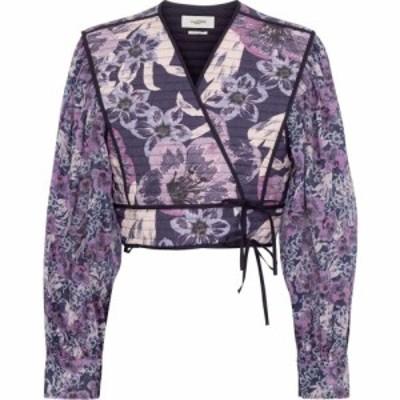 イザベル マラン Isabel Marant. Etoile レディース ベアトップ・チューブトップ・クロップド トップス halita floral cropped blouse Fa