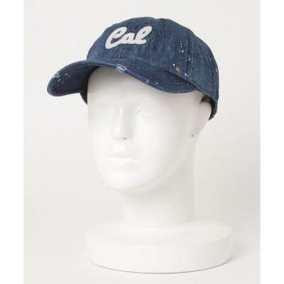 帽子 キャップ DENIM PAINT WPN CAP(ST)