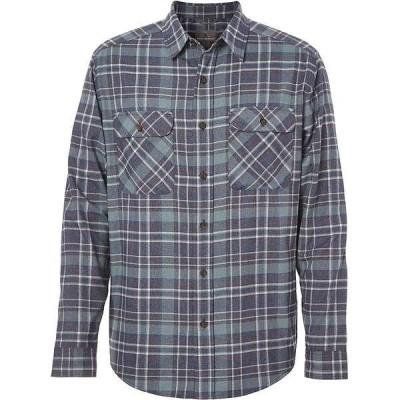 ロイヤルロビンズ メンズ シャツ トップス Royal Robbins Men's Performance Flannel LS Plaid Shirt