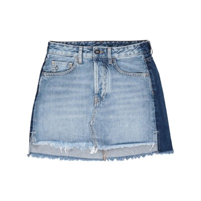 マルセロ ブロン MARCELO BURLON デニムスカート ブルー 25 コットン 100% デニムスカート