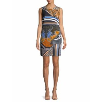 ヴェルサーチ レディース ワンピース Print Sheath Dress