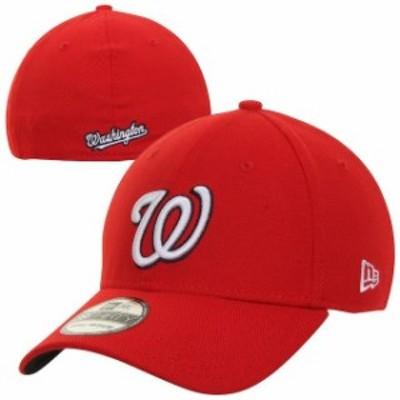 New Era ニュー エラ スポーツ用品  New Era Washington Nationals Red MLB Team Classic Alternate 39THIRTY Flex Hat