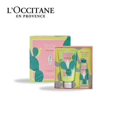 【ボックス入り】アクアカクタスヴァーベナ ボディ&ハンド(ロクシタン/L'OCCITANE)