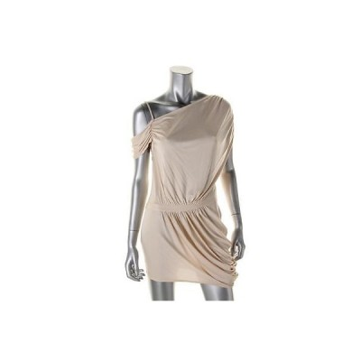 キャサリンマランドリーノ ドレス ワンピース キャットherine Malandrino 5831 レディース アイボリー シルク Blend Ruched Party ドレス S BHFO