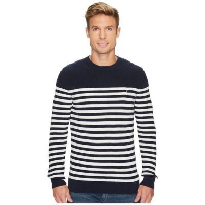 【残り1点!】【サイズ:SM】ノーティカ Nautica メンズ トップス ニット・セーター 12 Gauge Crew Bretton Sweater