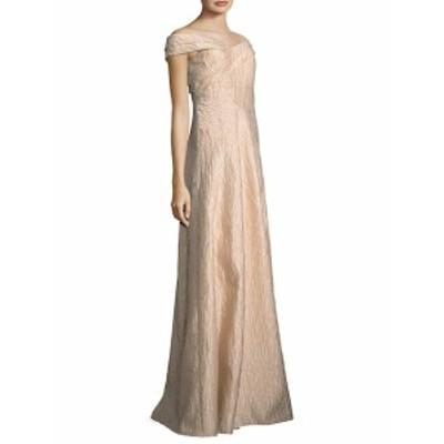 アドリアーナ パペル レディース ワンピース Off-the-Shoulder Gown
