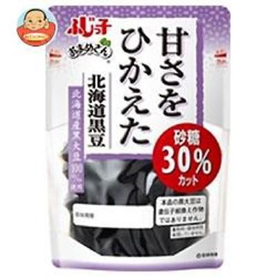 送料無料  フジッコ  おまめさん  甘さをひかえた 北海道黒豆  114g×10袋入