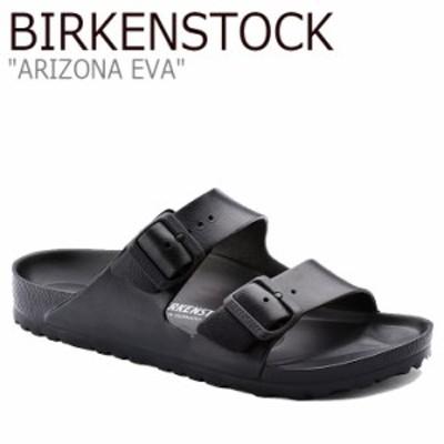 ビルケンシュトック サンダル BIRKENSTOCK メンズ ARIZONA EVA アリゾナ エヴァ BLACK ブラック FLBKAS2M20 129421 シューズ