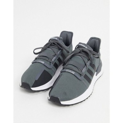 アディダス adidas Originals メンズ スニーカー シューズ・靴 U_Path run shoes in grey five & core black