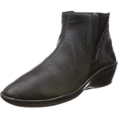 [アルコペディコ] ブーツ SOPHIA L ブラック 24 cm 3E