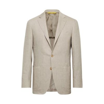 カナーリ CANALI テーラードジャケット ベージュ 50 リネン 52% / ウール 48% テーラードジャケット