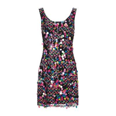 TWINS BEACH COUTURE ミニワンピース&ドレス ブラック 6 ポリエステル 100% ミニワンピース&ドレス
