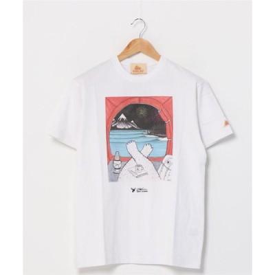tシャツ Tシャツ [KELTY/ケルティ]ジョナス・クレアッソン×KELTY プリントTシャツ/JONAS CLAESSON TEE HAPPY C