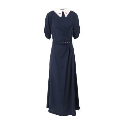 VIVETTA ロングワンピース&ドレス ダークブルー 42 レーヨン 95% / ポリウレタン 5% / シルク ロングワンピース&ドレス