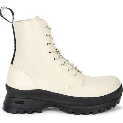ステラ マッカートニー Stella McCartney レディース ブーツ ショートブーツ シューズ・靴 Trace Off-White Faux Leather Ankle Boots Natural