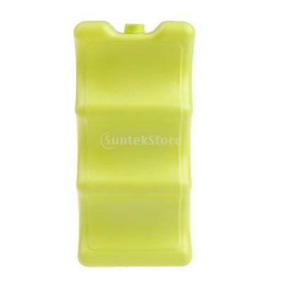 アイスブロックケース クーラーボックス オーガナイザー キャンプ ランチクールパック 全2色 - 黄
