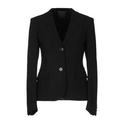 アスペジ ASPESI テーラードジャケット ブラック 42 70% トリアセテート 30% ポリエステル テーラードジャケット