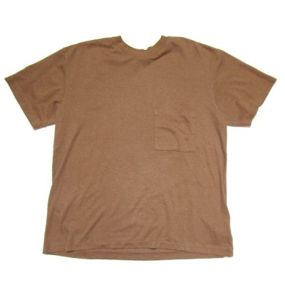 evan kinori ×LADY WHITE CO POCKET TEE ブラウン サイズ:M (三宮店) 200826