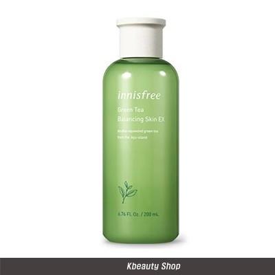 グリーンティー バランシングスキン 200 ml / Innisfree Green Tea Balancing Skin EX