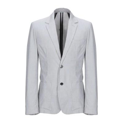 クルーナ CRUNA テーラードジャケット ライトグレー 48 コットン 97% / ポリウレタン 3% テーラードジャケット