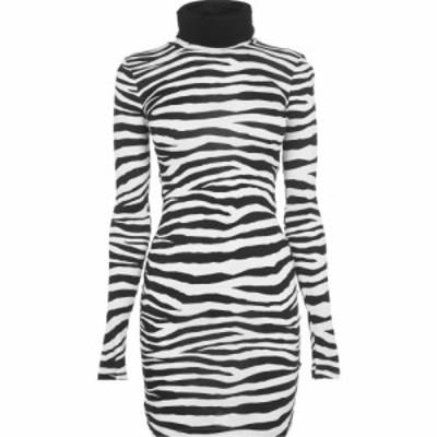 ジャスト カヴァリ JUST CAVALLI レディース ワンピース ミニ丈 ワンピース・ドレス Zebra Mini Dress S Zebra