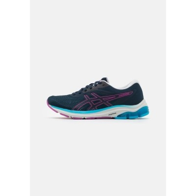 アシックス シューズ レディース ランニング GEL-PULSE 12 - Neutral running shoes - french blue/digital grape