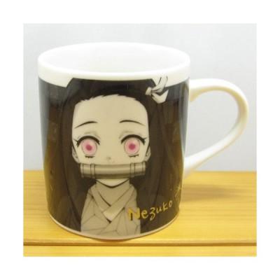 鬼滅の刃 モノクロームマグシリーズ 竈門禰豆子  コップ カップ マグカップ グッズ おしゃれ かわいい 陶器 コーヒーお茶