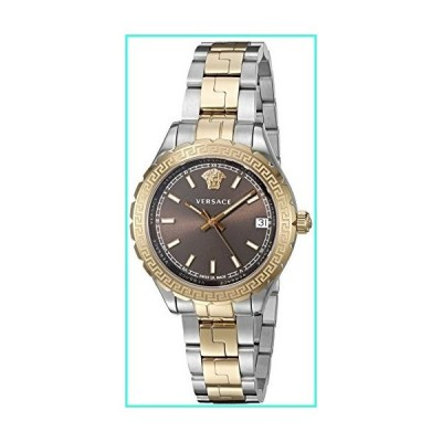 【新品】Versace Women's 'HELLENYIUM' Swiss Quartz Stainless Steel Casual Watch (Model: V12040015)(並行輸入品)