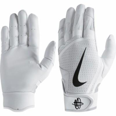 ナイキ Nike ユニセックス 野球 バッティンググローブ グローブ T-Ball Huarache Edge Batting Gloves White/White/Black