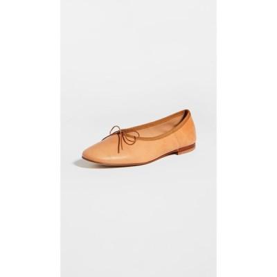 マンサーガブリエル Mansur Gavriel レディース スリッポン・フラット シューズ・靴 Dream Ballerina Flats Cammello