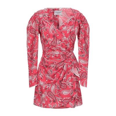フォルテクチュール FORTE DEI MARMI COUTURE ミニワンピース&ドレス レッド 42 コットン 100% ミニワンピース&ドレス