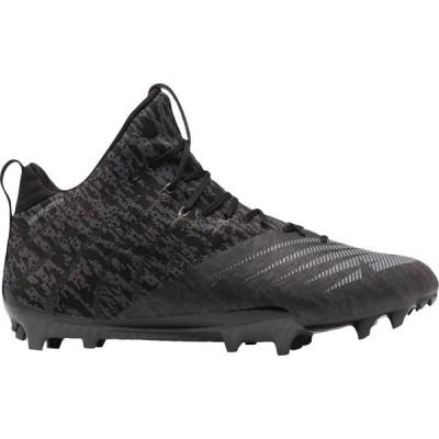 ニューバランス New Balance メンズ ラクロス スパイク シューズ・靴 BurnX 2 Mid Lacrosse Cleats Black/Silver