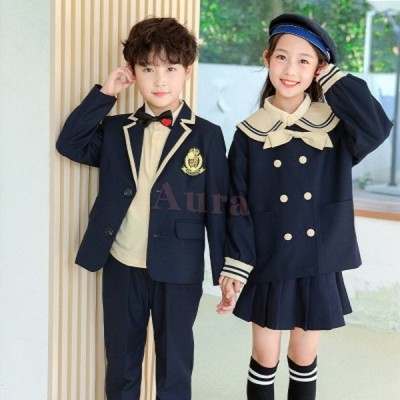 卒業スーツ 子供服 入学式 卒業式 女の子 スカート スーツ 男の子/子供服 フォーマル 男の子  女の子/合唱服 演出服