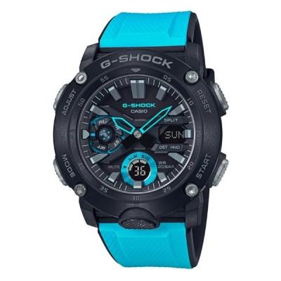 G-SHOCK Gショック ジーショック カシオ CASIO アナデジ 腕時計 ブラック スカイブルー GA-2000-1A2JF 国内正規モデル