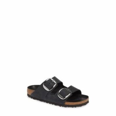 ビルケンシュトック BIRKENSTOCK レディース サンダル・ミュール スライドサンダル シューズ・靴 Arizona Big Buckle Slide Sandal Black
