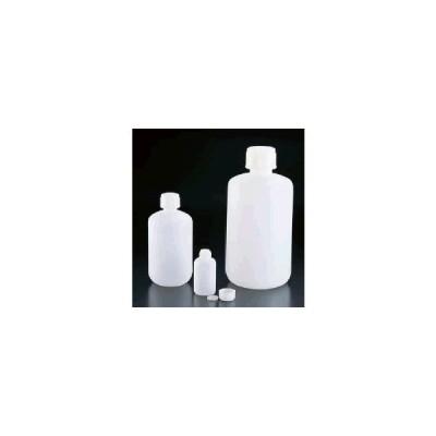 保存容器 キッチンポット・プラスチック製 PEポリエチレン丸ボトル SKAシリーズ(内ふた付)SKA-250 (63×126mm)271ml(8-0242-0101)