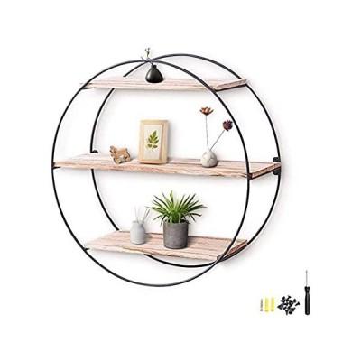 特別価格ASDFGHJKL Decorative Wall Shelf, Wall Shelf Rustic Wood Floating Shelves fo好評販売中