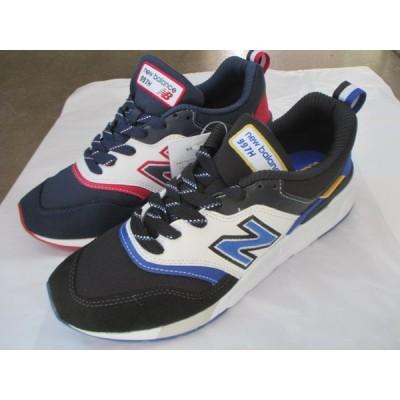 ニューバランス NB CM997(HFE) ネイビー/レッド (HEV) ブラック/ブルー 25.0cm〜28.0cm 定価:10120円(税込み)