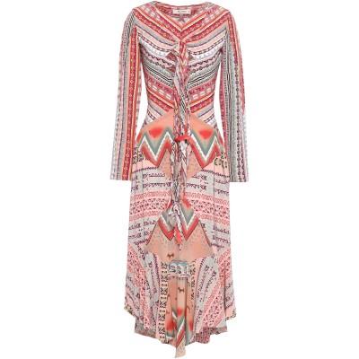 エトロ ETRO ロングワンピース&ドレス レッド 40 シルク 100% ロングワンピース&ドレス