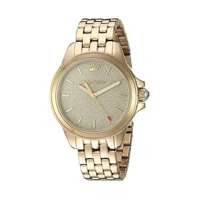 Juicy Coutureレディース' Malibu ' Quartz andステンレススチールCasual Watch, Color : gold-toned (モデル: 1901593?) 並行輸入品
